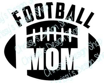 Football mom svg cut file / football mom svg / football mom svg download / football svg / football clip art / football mom clip art