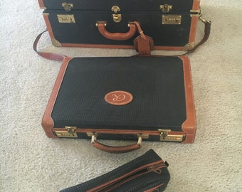Stepan italian leather suitcase collection