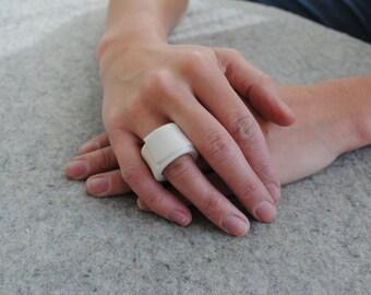 Ceramic Ring - Porcelain