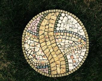 "mosaic plate ""Spring"""
