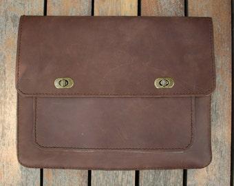 Handmade Leather Laptop Sleeve