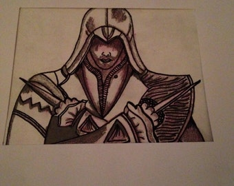 Assassins Creed Ezio drawing