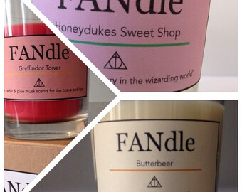 Harry Potter Trio of scented candles