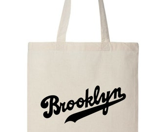 Brooklyn Tote Bag - New York Tote Bag - Brooklyn Tote Bag - Bronx - Queens - Staten Island - Manhattan - Trendy Bag - Beach Bag - Canvas Bag