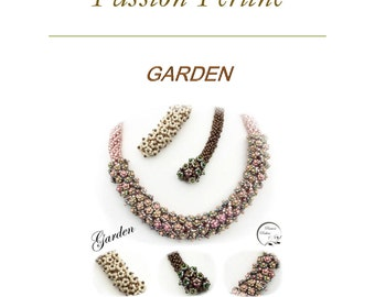 Pattern necklace GARDEN