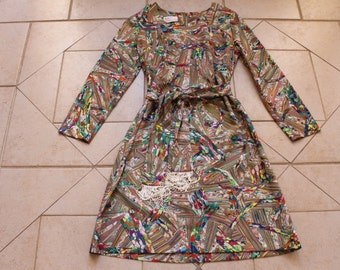 Vintage Gloria Swanson by Puritan FOREVER YOUNG Dress            Sz S