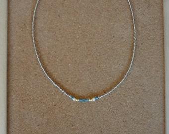 Ethnic beads necklace