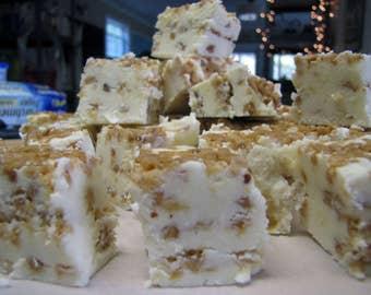 Vanilla Toffee Goat's Milk Fudge