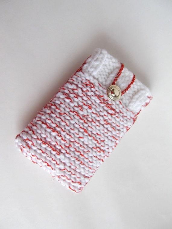 Knitting Patterns For Phone Socks : Phone sock iPhone 6 knit sock smartphone case by 9FloorStudio
