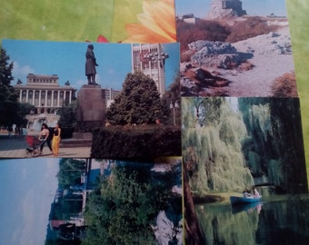 vintage postcard from Bulgaria 1980