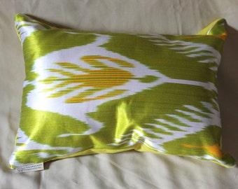 Luxurios Silk Ikat handmade cushion pillow case cover