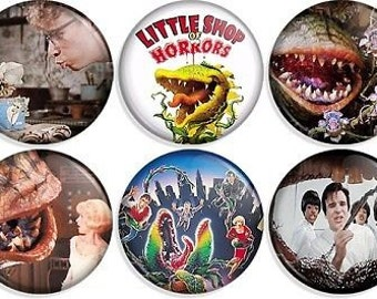 Little Shop of Horrors Button set of 9