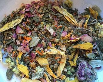 Organic Immune system booster Remedies tea Dried Flowers Leaf Herbal tea Mixture 100g