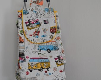shopping trolley cover: Volkswagen bus