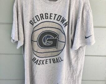 Retro nikengeorgetown basketball shirt sz M but fits L