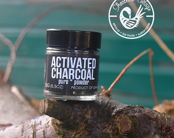 ACTIVATED CHARCOAL : 15G