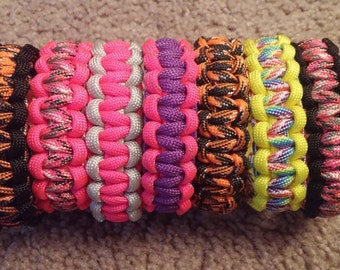 Handmade 550 Paracord Bracelets
