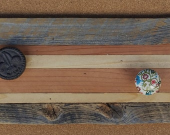 Reclaimed Wood Coat Rack