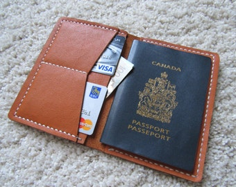 The Oysterton Leather Passport Cover Holder Passport Travel