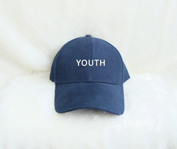 youth baseball hat embroidered baseball caps by kidindiyshop