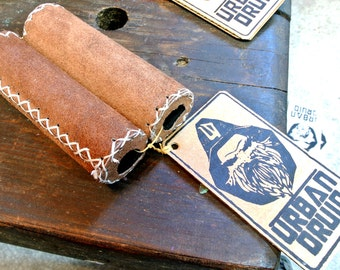 Leather Bicycle Grip