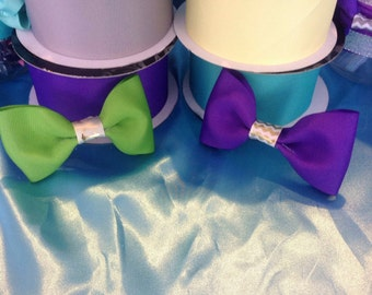 Small Tuxedo Hairbows