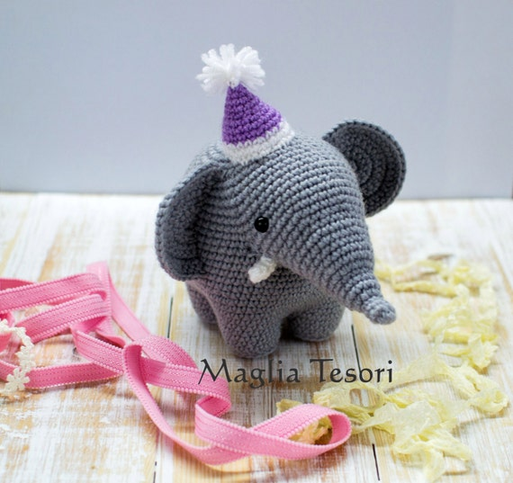 Amigurumi Puzzle Animals : Amigurumi animals crochet elephant Massimiliano crochet