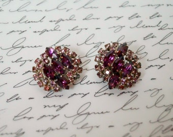 "Vintage Earrings (clip-on) - ""Rebecca"""