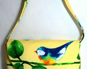 Bird Lover Shoulder bag - Yellow Bird bag