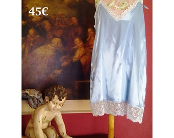 Silk Nightgown lace size M