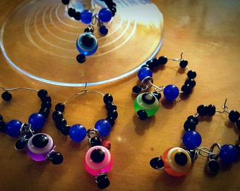Evil Eye Wine Charms by DrinkTinks