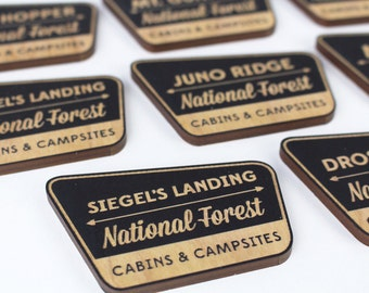 Personalized National Forest Magnet