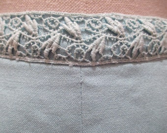 60s Vintage Sky Blue High Waisted Shorts