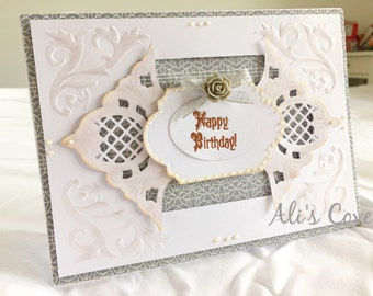 Handmade 'Happy Birthday' Card