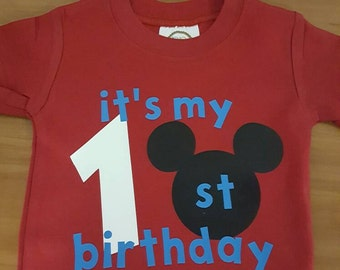 Mickey Mouse Inspired Birthday Shirt
