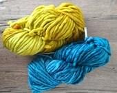 Malabrigo rasta merino wool, 100% merino wool, Chunky, bulky merino wool, single ply,