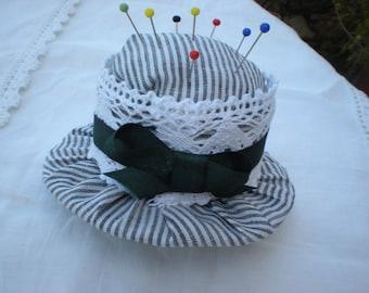 handmade Pincushion Hat