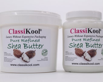 Classikool 100% Pure Shea Nut Butter/ Oil For Hair, Nails & Skin Moisturiser (Free UK Mainland Postage)