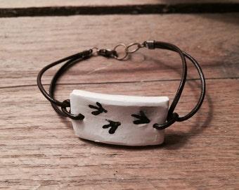 Chicken Tracks Bracelet