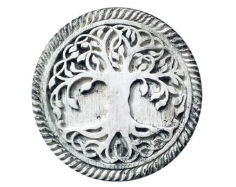 Tree of Life - Celtic wall plaque, ready to hang, stone effect
