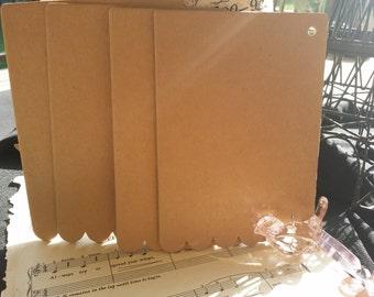 5x7 heavy chipboard. 4 piece