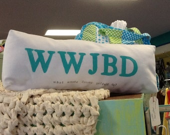 What would Jimmy Buffett do? Decorator pillow