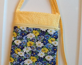 Floral Cross Body Shoulder Bag.