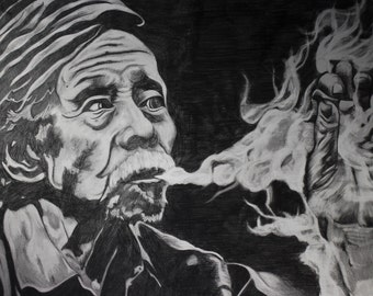 A3 Portrait - Original Artwork Pencil Drawing on Paper