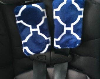 Car seat strap cover