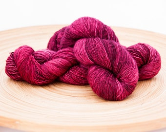 Red Wine Stain - Merino single