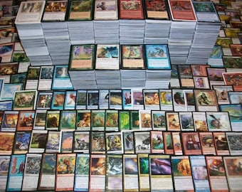 100 RANDOM Magic: The Gathering MTG Cards - English - NM - All different years and sets, from Alpha up!