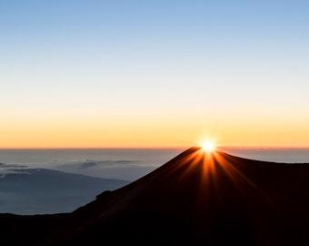 Sunset at Muana Kea