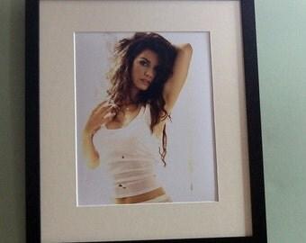 Shania Twain  framed 8' x 10' photo