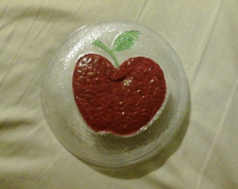 Apple candy dish